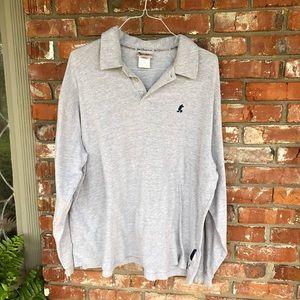 Walt Disney World long sleeve gray polo size XXL